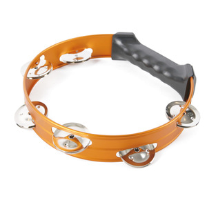 하오센 탬버린 HTR-8P Orange HAOSEN Headless Tambourine